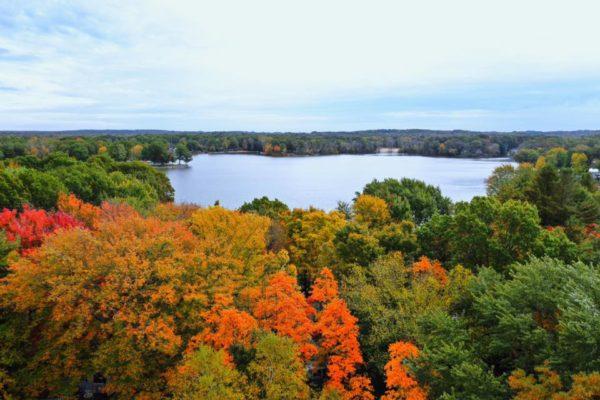 Mark Reinhart II-Lake Aerial